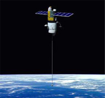 Tether-satellite-NASA