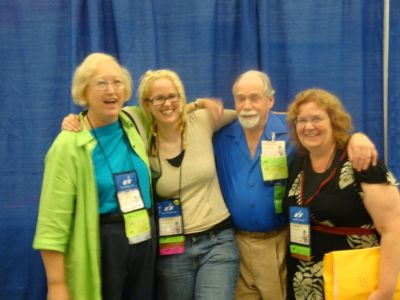 Connie Willis, Amelia Beamer, Robert Silverberg and Shiela Williams