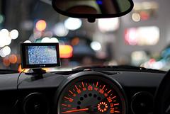 car dashboard, Tokyo