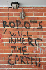 Robots will inherit the Earth!