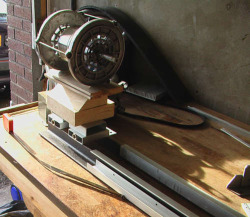 building a DIY lathe