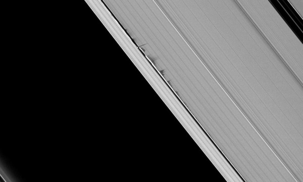 The Keeler gaap in Saturn's A Ring