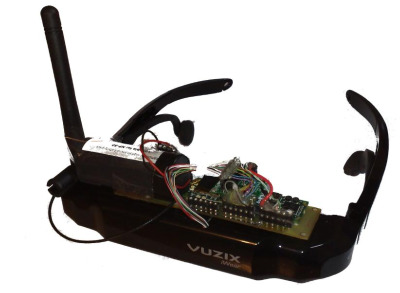 Pascal Brisset's wxhmd wearable computer