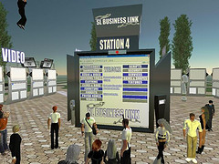 Second Life business link terminal