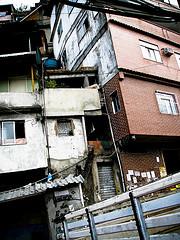favela housing, Rio de Janiero
