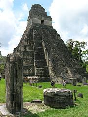 Grand Jaguar pyramid - Tikal, Guatemala