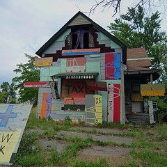 Heidelberg community art project, Detroit