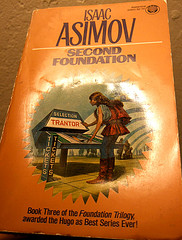 Isaac Asimov's second Foundation in paperback