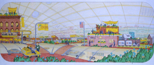 Winooski dome concept drawing - John Anderson