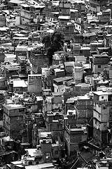 The Rocinha favela, Rio de Janeiro