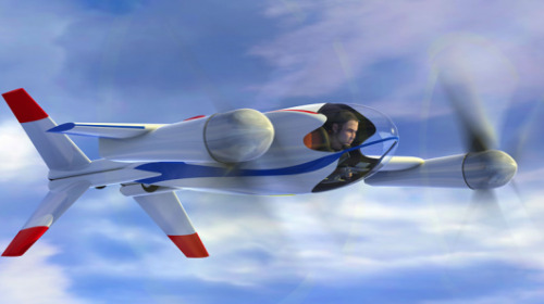 NASA Puffin personal air vehicle concept