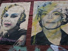 Jackson/Monroe/Warhol mashup poster