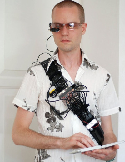 Martin Magnusson's wearable computer