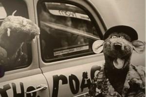 Roland Rat and his Ratmobile