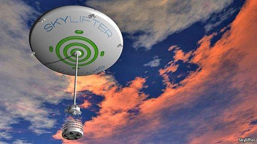 Skylifter dirigible concept
