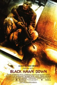 Black Hawk Down movie promo poster
