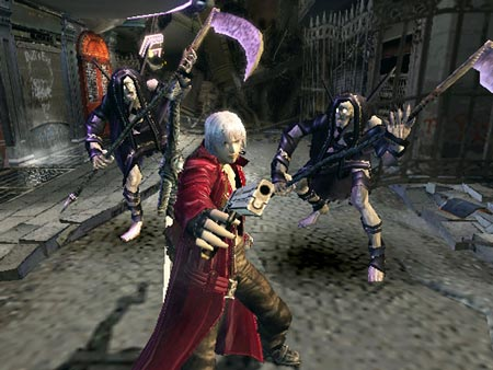 Screenshot from Devil May Cry
