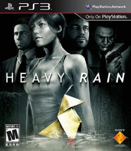 Package artwork for Heavy Rain