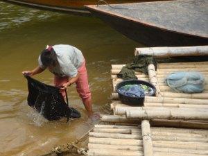 Washing in Thailand
