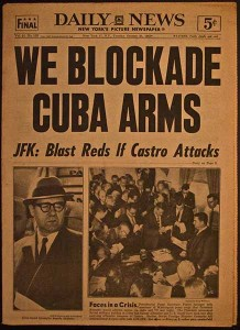 Cuban Missile Crisis headline, Daily News