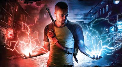 Screenshot from Infamous 2