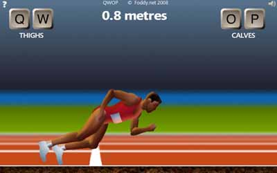 Screenshot from QWOP