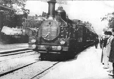 Early train footage by Lumiere brothers