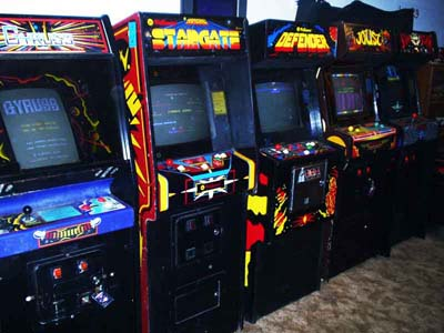MAME cabinets