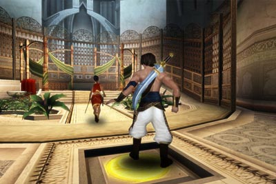 Prince of Persia: Sands of Time screengrab