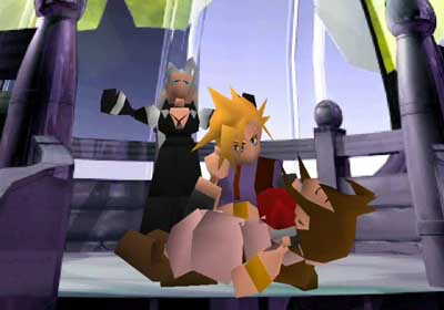 The death of Aerith from Final Fantasy VII