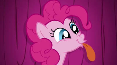 Pinkie Pie signs off