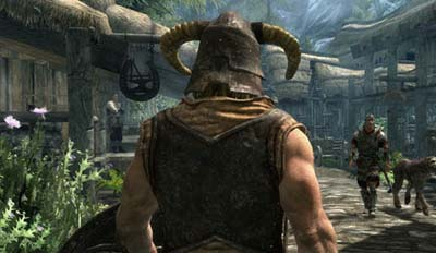 Screengrab from Skyrim